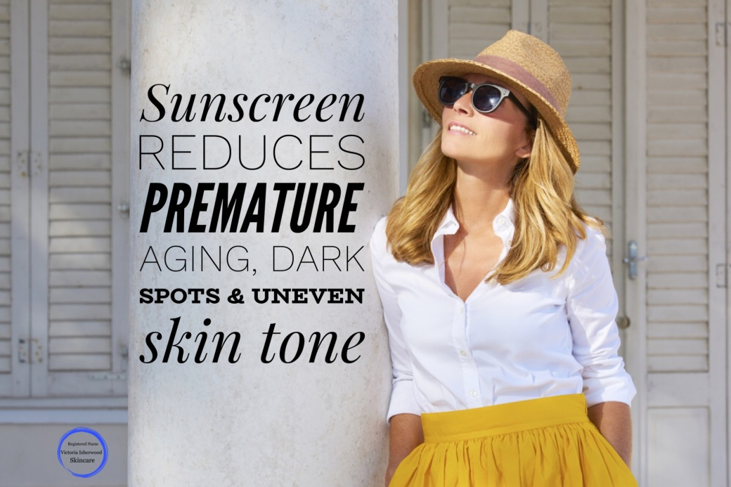Sunscreen for anti-aging