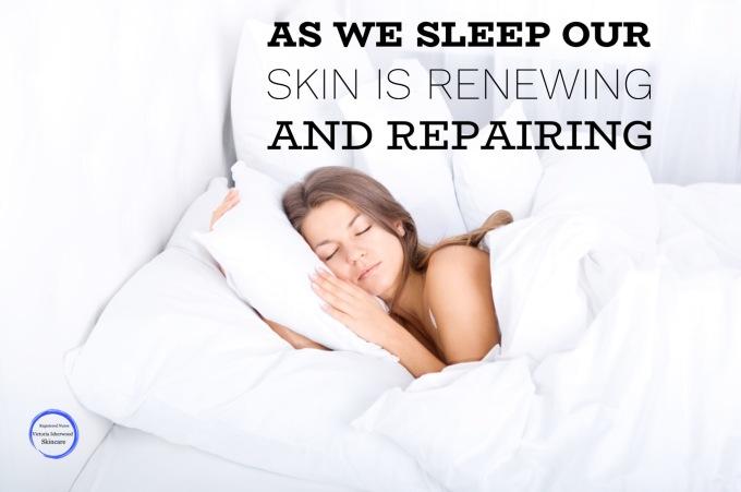 Sleep for good Skin health