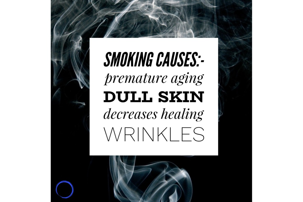 Smoking and your skin